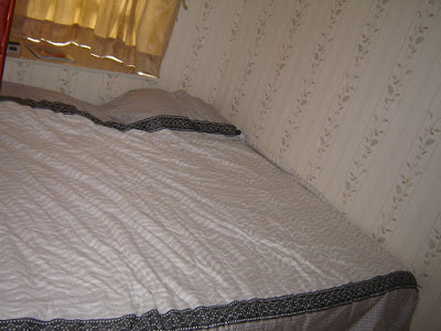 Image: Our bedroom - wall to wall bed, by William Heaton (billheat) on Photobucket