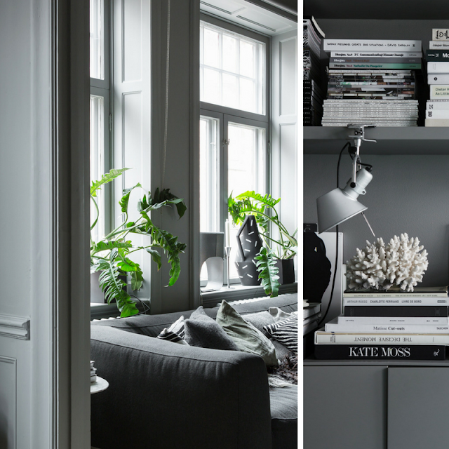 grey decoration • the round button blog