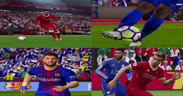 Graphic Pack Like PES 2018 For PES 2017