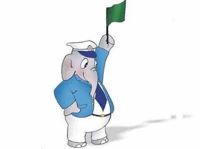 Mascot of Indian Railway, भारतीय रेल के शुभंकर, भोलू गार्ड, भोलू हाथी
