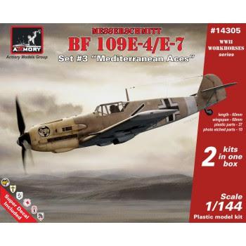 """AR14305 - 1/144 Messerschmitt Bf 109E """"Mediterranean TO Aces"""""""
