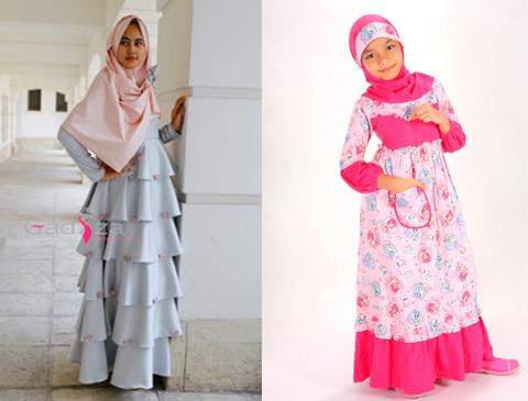 Kumpulan Foto Baju Muslim Anak Perempuan Untuk Fashion Show