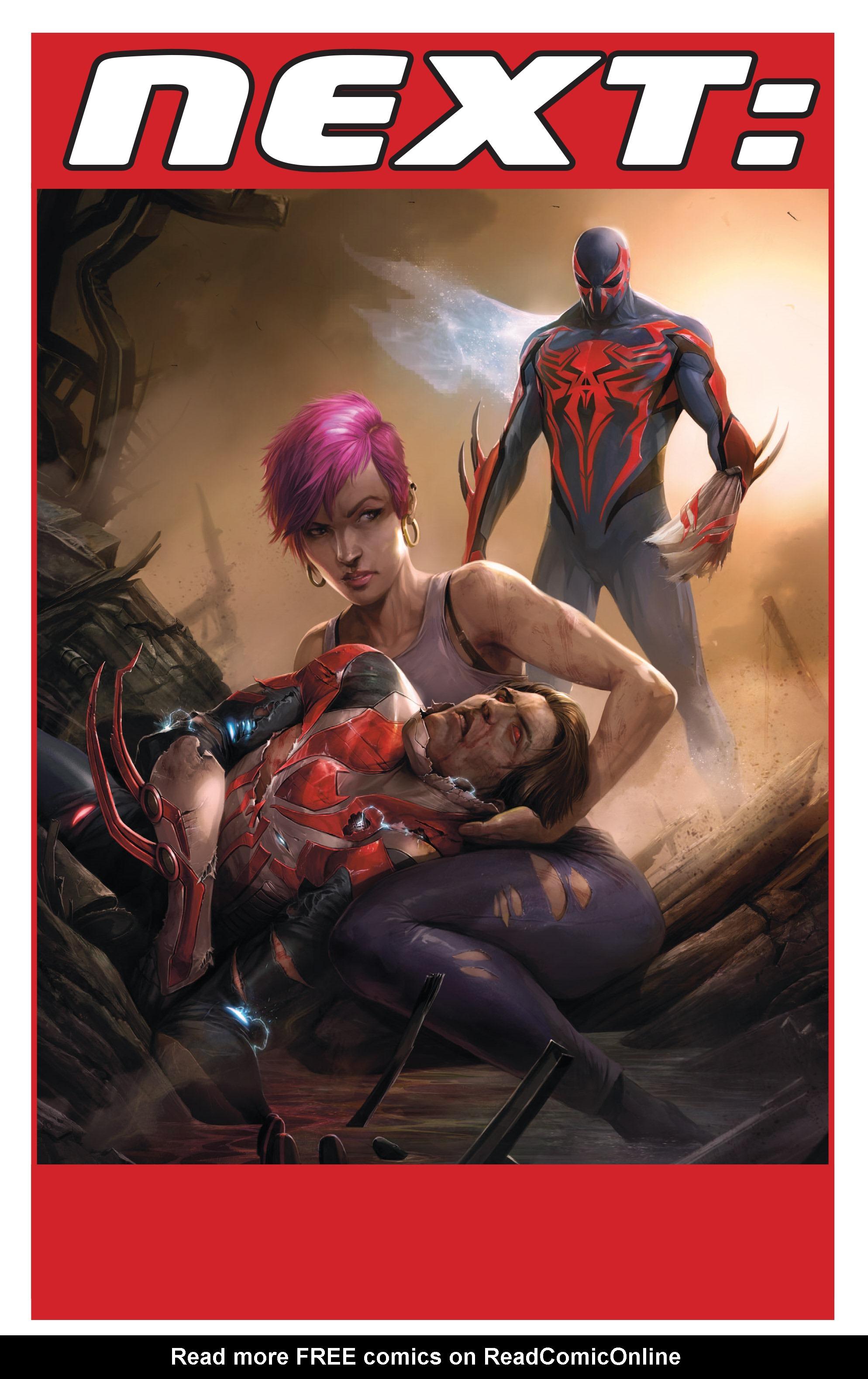 Read online Spider-Man 2099 (2015) comic -  Issue #24 - 23