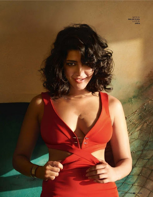 Shruti Haasan Looks Real Pretty on GQ Magazine May 2016 – HQ Pics