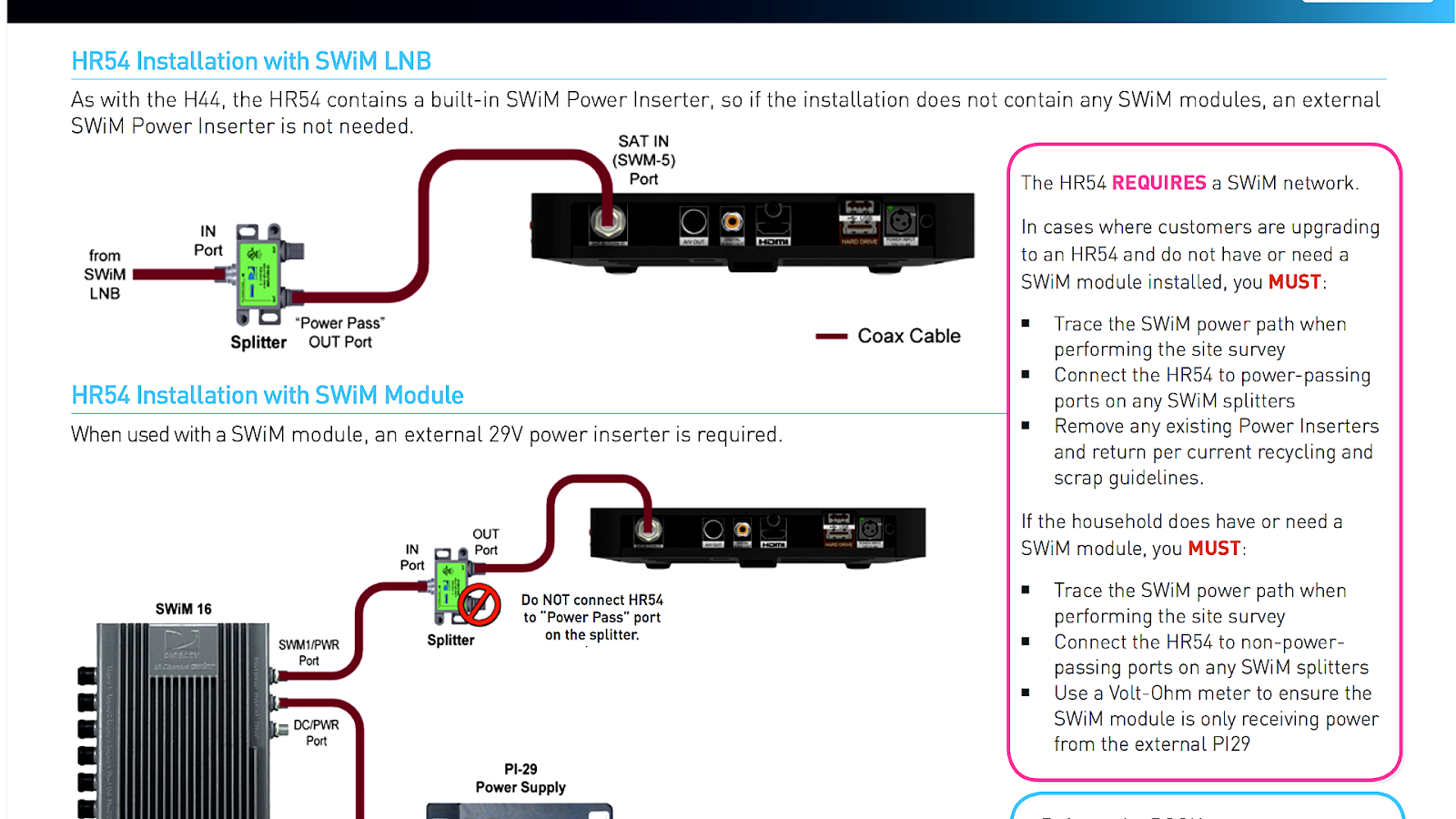 How To Connect Directv Genie - Connect Choices H Directv Swm Wiring Diagram on