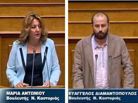 Τα πόθεν έσχες Μ. Αντωνίου, Β. Διαμαντόπουλου