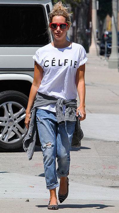 Never Be Afraid I Celebrity Inspiration Fashion