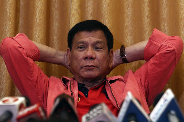 Duterte again slams the media for twisting his statements