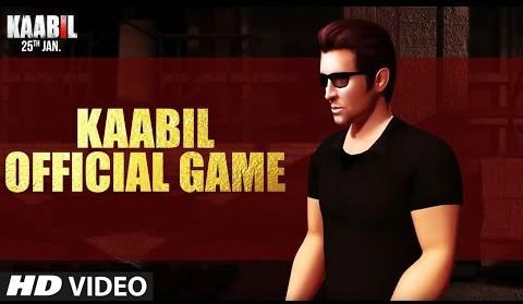 Hrithik Roshan Kaabil Official Game Trailer