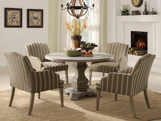 Modern Room with Round Dining Tables Modern Room with Round Dining Tables round dining room table ideas