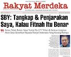 SBY: Tangkap Dan Penjarakan Saya Kalau Fitnah Itu Benar