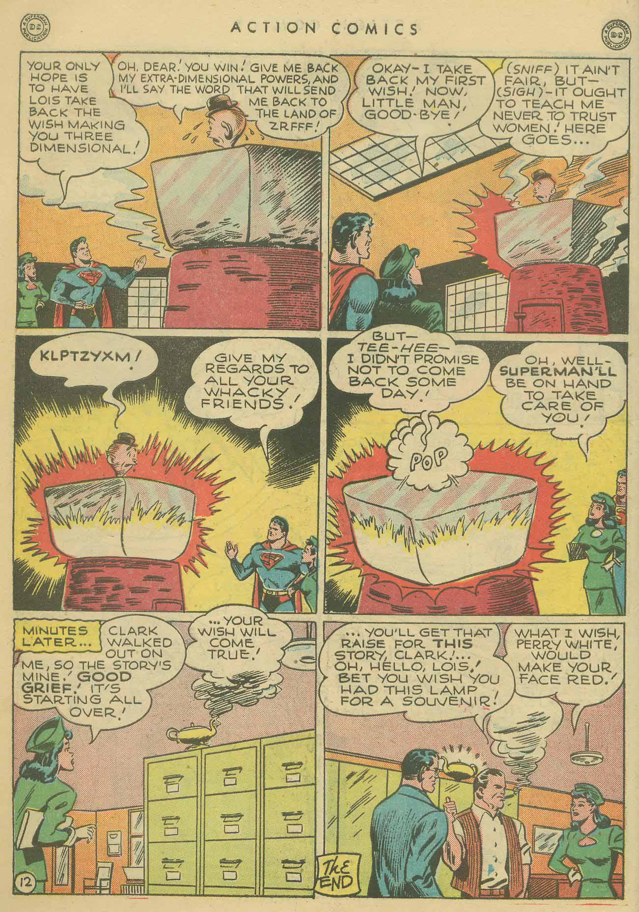 Read online Action Comics (1938) comic -  Issue #102 - 13