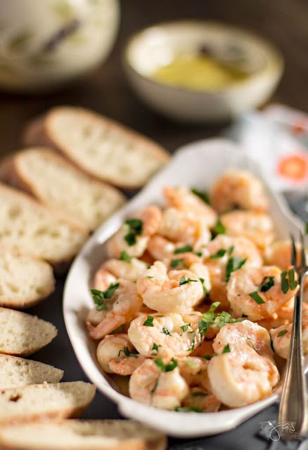 spanish garlic shrimp tapa recipe