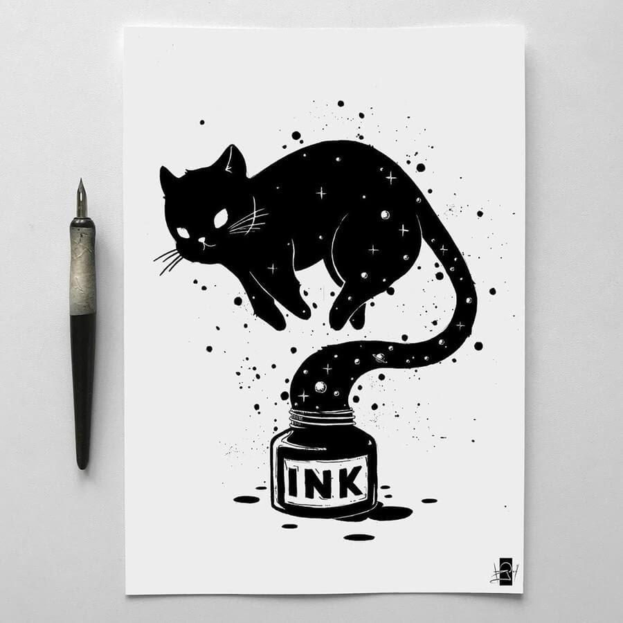 05-Black-Cat-Sailing-Vladimir-Rudoi-www-designstack-co