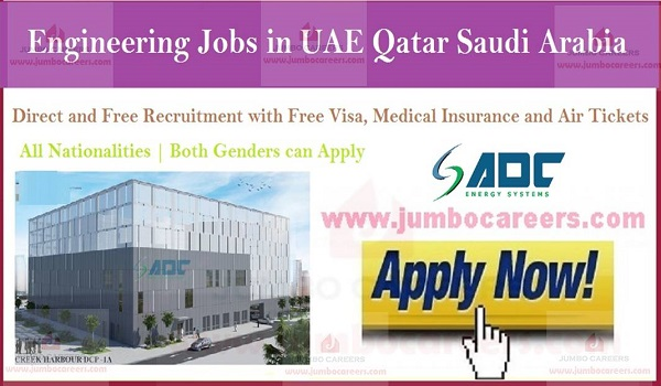 How to apply for latest engineering jobs, Jobs description of latest engineering jobs Qatar,