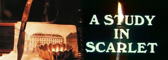 Estudio en escarlata, de Arthur Conan Doyle y Robin Midgley - Cine de Escritor
