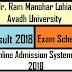 Dr. Ram Manohar Lohia Avadh University B.A I B.SC I B.COM I M.A I M.SC I M.COM Result - 2014