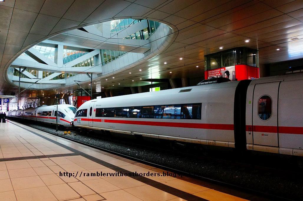 ICE train, Frankfurt, Germany
