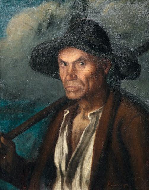 Ángel Larroque Echevarría, Maestros españoles del retrato, Retratos de Larroque Echevarría, Pintor español, Pintores de Bilbao, Larroque Echevarría