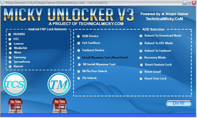 Micky Unlocker V3 Latest Version Free Download