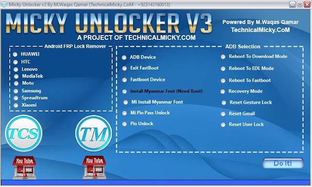 Micky Unlocker V3 Latest Version Free Download