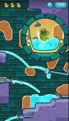 Where´s My Water? Ajude o jacaré tomar banho nesse excelente jogo para Android 2