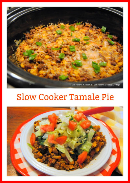 Slow Cooker Tamale Pie at Miz Helen's Country Cottage