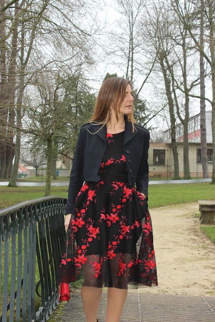 robe maje, look du jour, les petites bulles de ma vie