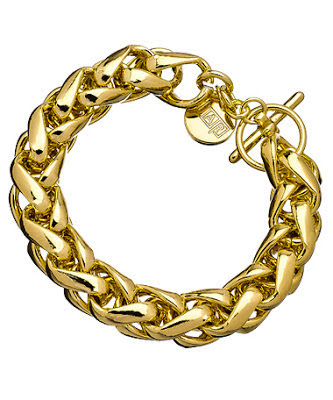 Bratara 1AR by UnoAerre, autentica, placata cu aur de 18 K, splendida