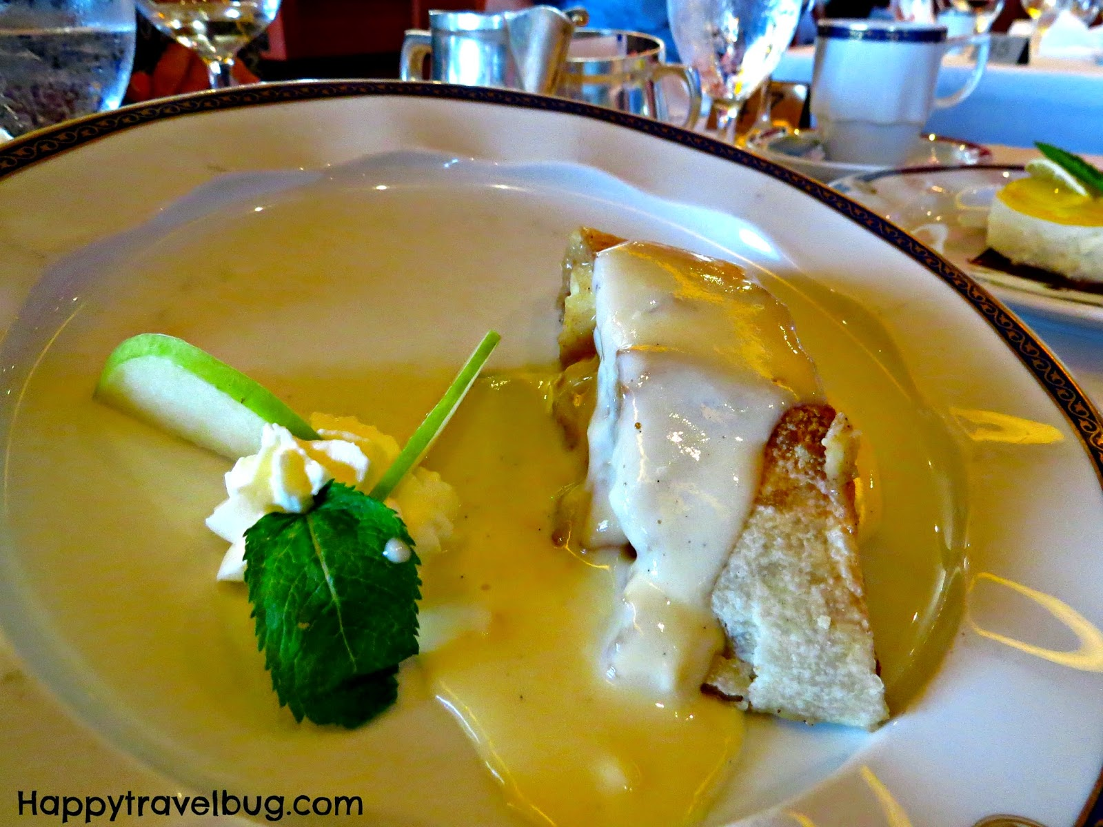 Apple Strudel from dinner on our Holland America Cruise
