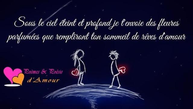 Sms d'amour pour souhaiter bonne nuit