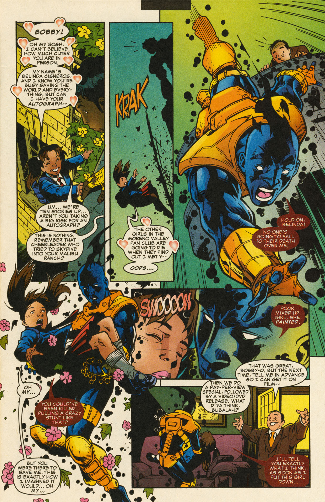 Read online X-Force (1991) comic -  Issue #98 - 5