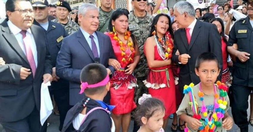 AGENDA BICENTENARIO: Jefe de Gabinete Ministerial participa de colorido pasacalle en Moyobamba, Capital del Departamento de San Martín