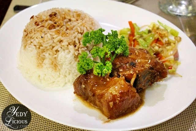 Chicken Pork Adobo at Kapitbahay Filipino Restaurant Antipolo City Rizal
