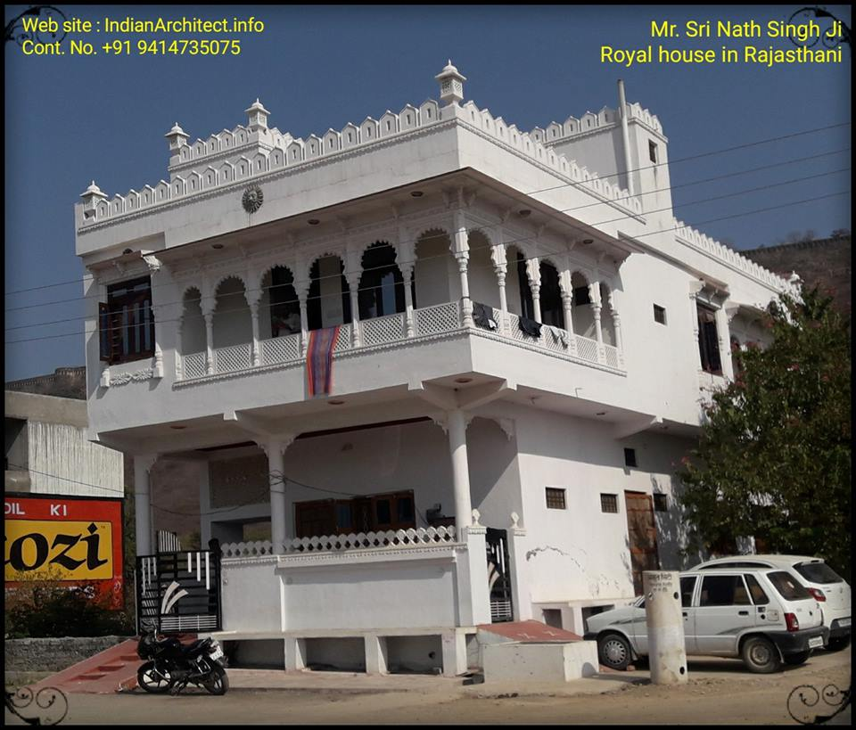 Royal Home Designs: Mr. Sri Nath Singh Ji 's Royal House In Rajasthani