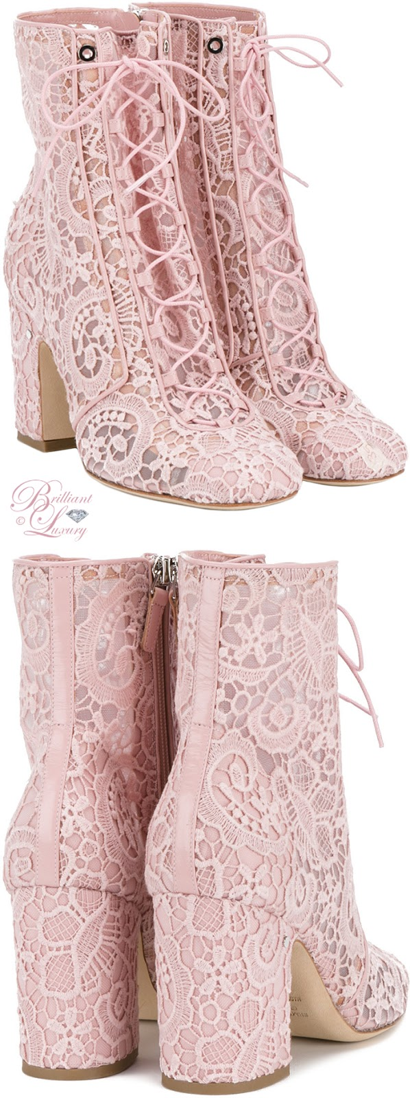 Brilliant Luxury ♦ Laurence Dacade Milly Lace Boots
