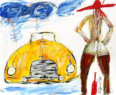 Известные современные художники, популярные работы современного искусства