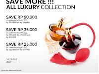 Promo  Potongan Harga Sampai dengan Rp. 50.000,- untuk All Luxury Collection Kami, Order Sekarang Juga!