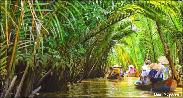Vùng sông nước Bến tre