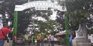 Hadiri Peresmian Desa Sadar Jaminan Sosial Ketenagakerjaan, Kepala BPJS-TK Cab Binjai : Banyak Keuntungan Bila Masyarakat Ikut Bergabung