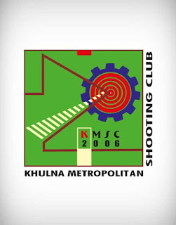 khulna metropolitan shooting club, khulna metropolitan shooting club vector logo, khulna metropolitan shooting club logo, khulna, metropolitan, shooting, club