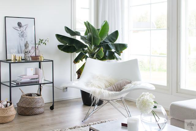 kodikkuus, olohuone, stingray keinutuoli, house doctor sivupöytä