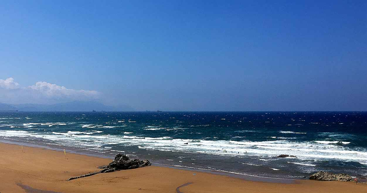 sopela viento mar