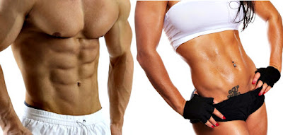 Abdominales hombre mujer quemar grasa ejercicios