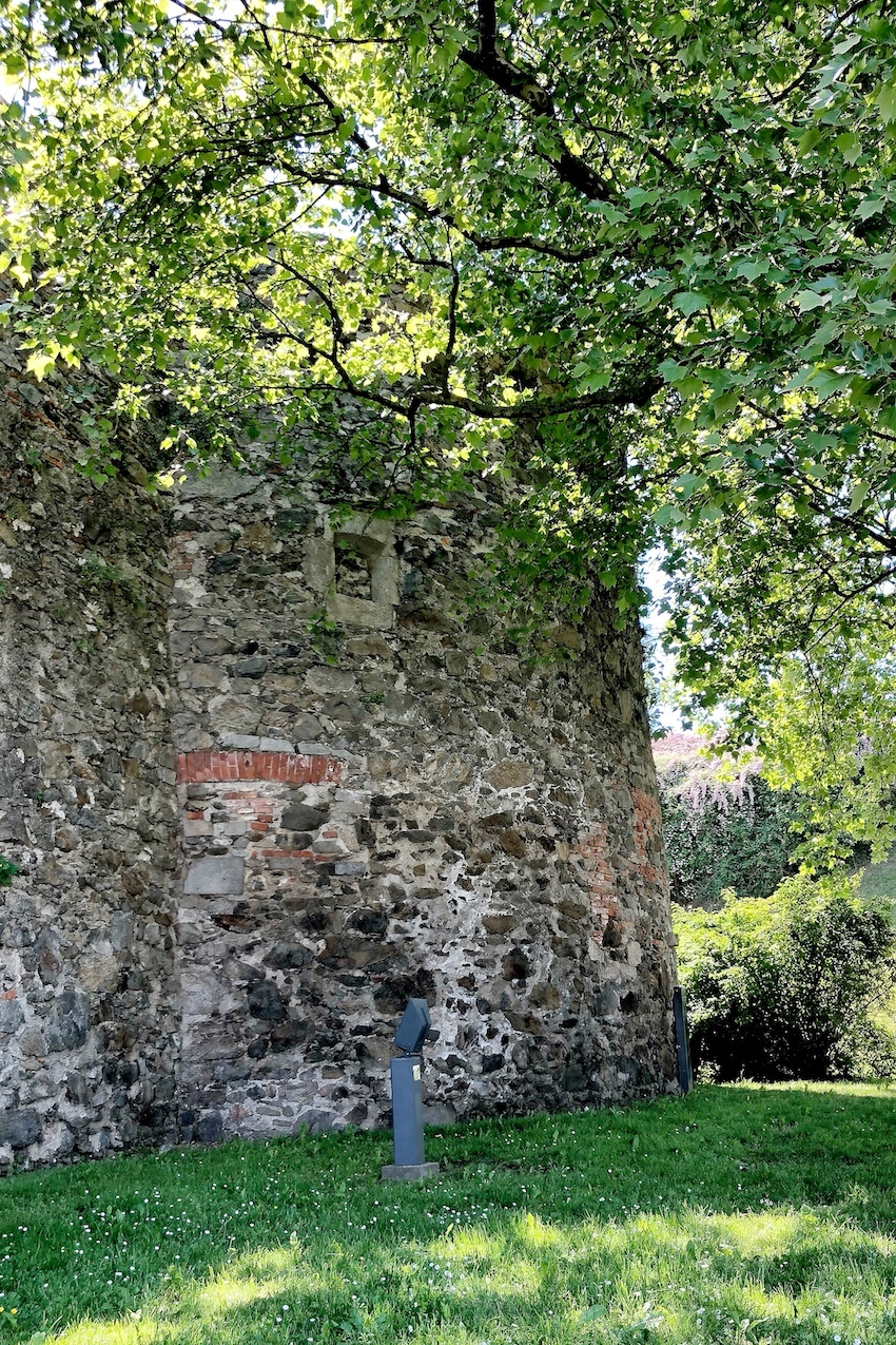 Teil der Schlossmauer, Linz