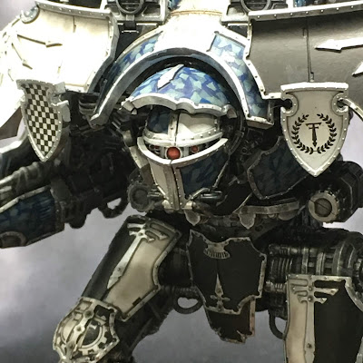 Adeptus Titanicus Legio Tempestus Warlord Battle Titan - close up