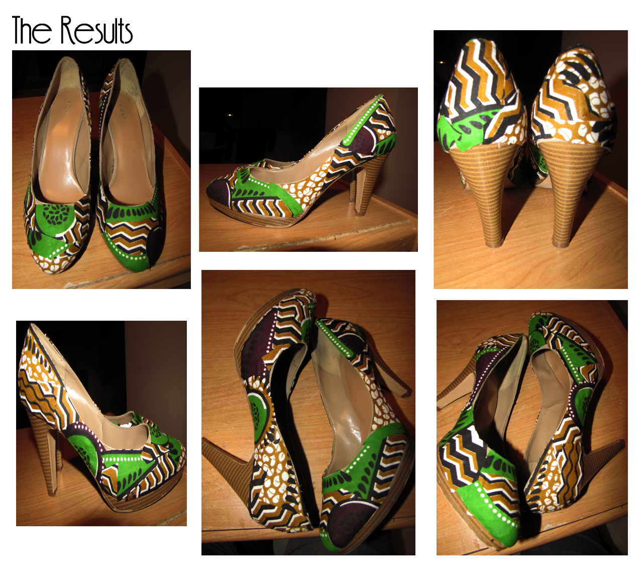 Curvy Geekery: D.I.Y - Giving Shoes the Fabric Treatment