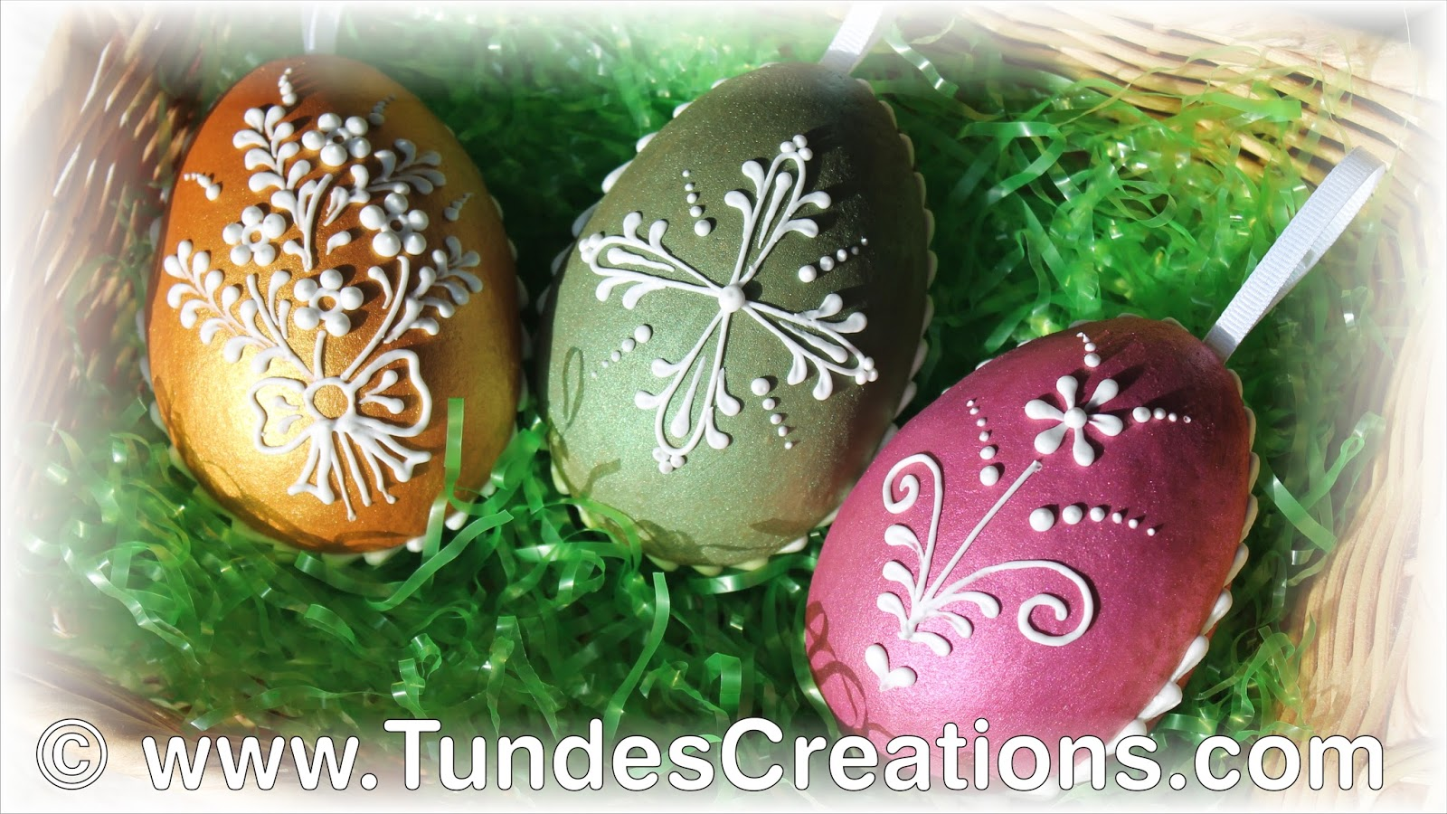 The Gingerbread Artist Candy Filled Easter Egg Cookies