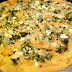 Zucchini, Corn, and Leek Pizza with Pesto and Feta (Pizza Night!)