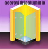 acero vidrio aluminio